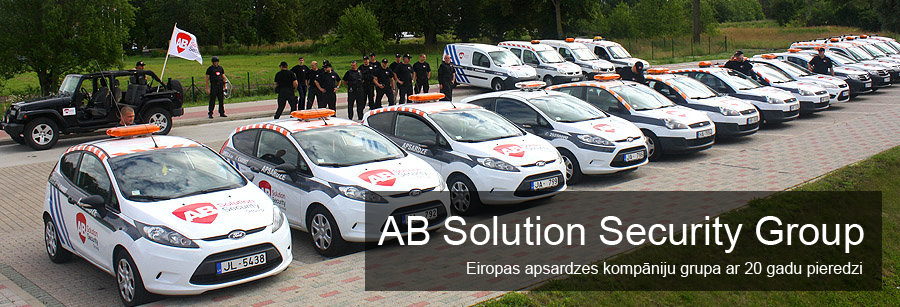 AB Solution Security Group mūsu kompānijas